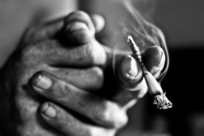 Monochrome Photography Black And White Smoking Close-up Vscocam Bnw Documentary Photography