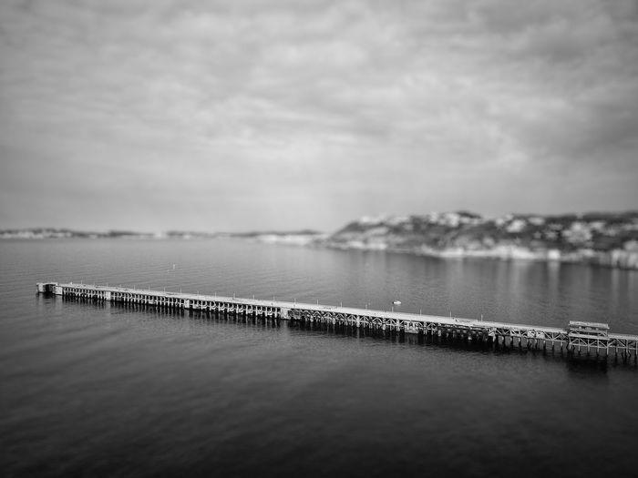 The Dock, Bagnoli , Naples Dockside Sealine Water Sea Sky Nature Scenics Tranquil Scene No People