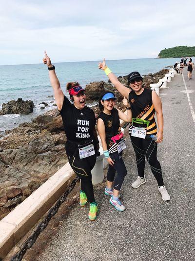 นักวิ่งต้องผิวเข้ม!! เข้มจัดๆ แมนๆกันไปฮะ Marines MaraThon 2017