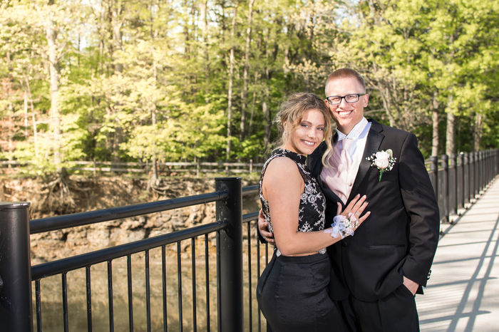 Love Togetherness Two People Railing Romance Adult Heterosexual Couple Adults Only Connection Mature Adult People Standing Outdoors Eyeglasses  Civil Partnership Men Couple - Relationship Happiness Smiling Cleveland Senior Prom Beautiful People Looking At Camera Portrait Day