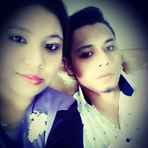 With my sibblingBrother✌👈💑🙆