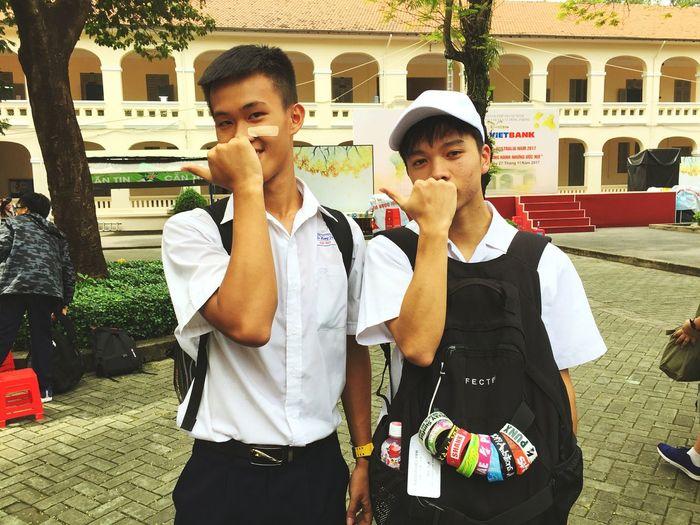 Vietnam and japan Friendship. ♡   Togetherness Schoolvisit