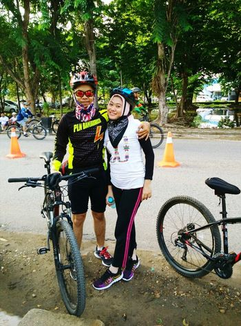 Latepost Happyfamily Happyweekend My Husband And Me Funbike Healtylife All Smiles ツ