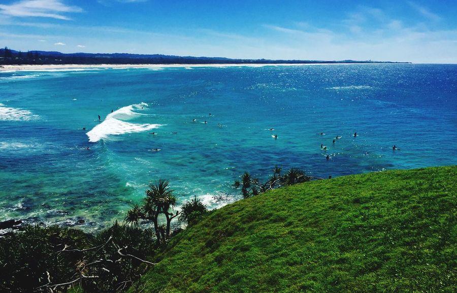 Cabarita Headland Ocean View Hanging Out Beach Beachphotography Australia