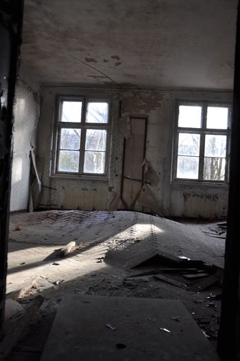 Abandoned Architecture Bad Condition Broken Damaged Day Destruction Indoors  No People Ruined Sunlight Window