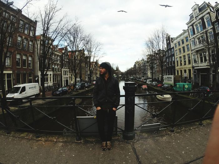 Amsterdam Traveling Holanda View