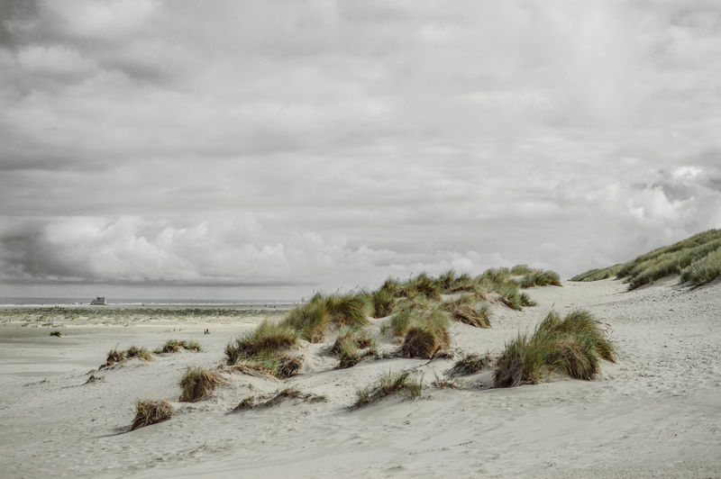 Sand Beach Nature Cloud - Sky Outdoors Landscape No People Day Storm Cloud Beauty In Nature Sky Netherlands First Eyeem Photo