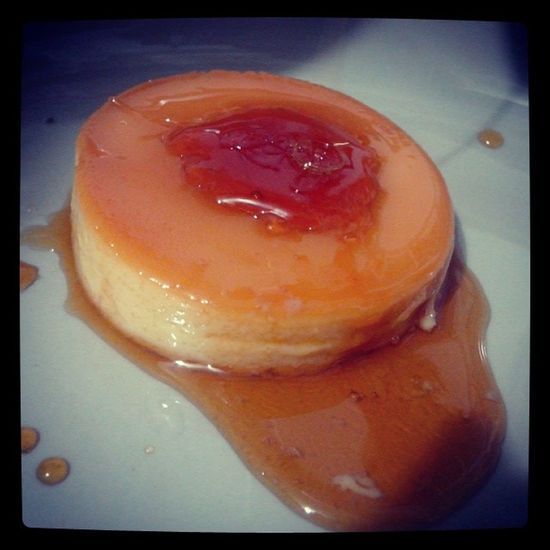 the finish product with many caramel mehehe Lecheflan Sweets Happy