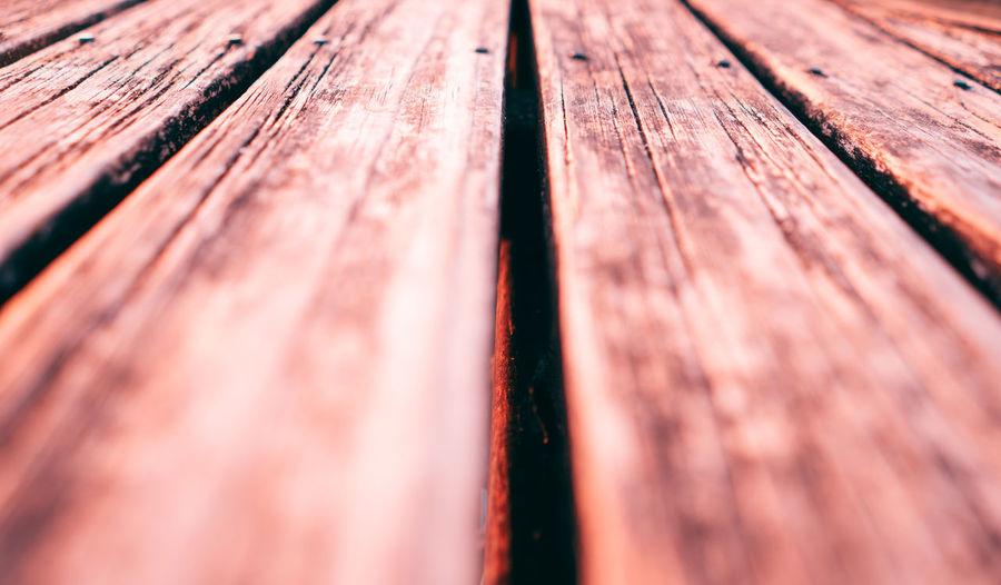 Macro shot of weathered wood
