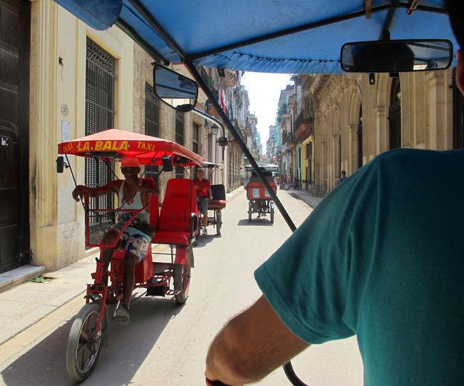 Showcase July Cuba City City Life Taxi Bicitaxi