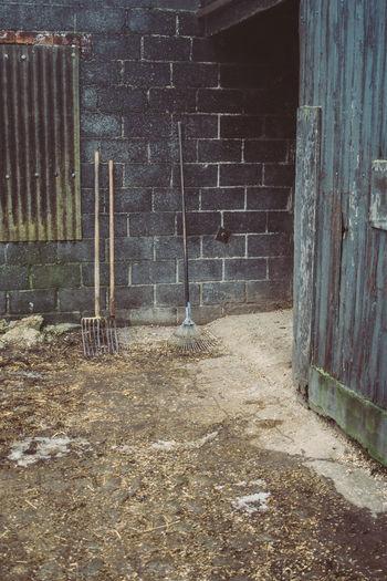 Barn Built Structure Countryside Farm Farming Hayfork Outdoors