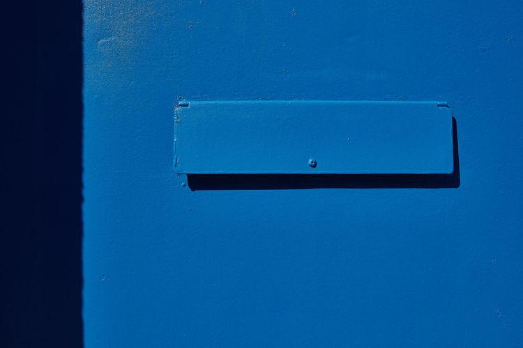 Close-up of mailbox