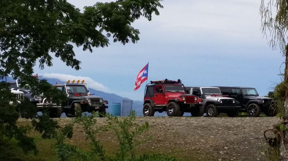 Jeep Puerto Rico Puerto Rico Flag My View