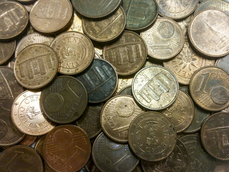 Abstract Abundance Close-up Coin Coins Currency Day Eurocent Euros Finance Financial Item Full Frame Indoors  Investment Large Group Of Objects Money No People Number Savings Wealth
