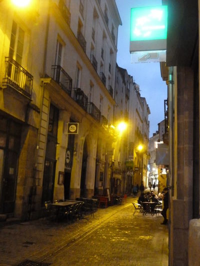 old street in