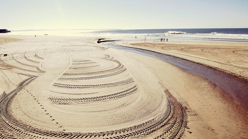 The Beach Eyeem X Whitewall: Nature EyeEm Gallery Sea View Beach View Waves, Ocean, Nature Seaside_collection Sand Sky Day Daytime Landscape_Collection Landscape EyeEm X WhiteWall: Landscap Landscapes With WhiteWall