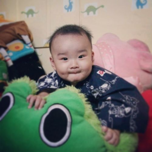 My Nephew Cliff Ryu Lawata Smile Love