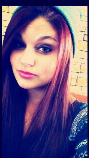 Redhead Faces Of EyeEm My Boyfriends Hat People Of EyeEm Cute Girl Selfie ♥
