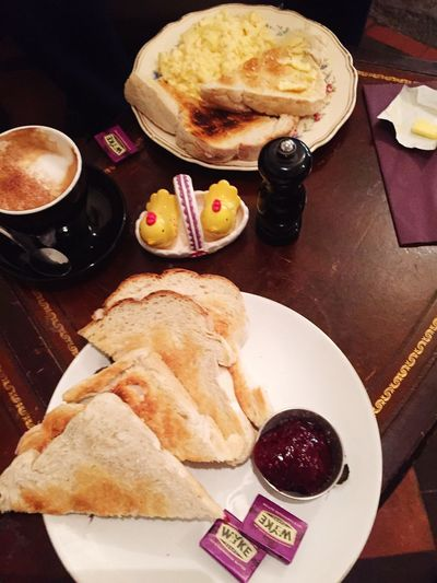 Toast🍞 Jam Breakfast Scrambledeggs Perfect Breakfast Dunster Chapel House Tea Room Dunster No People Coffee - Drink Plate Breakfast High Angle View Coffee Indoors  Freshness Healthy Eating Refreshment Drink Meal Ready-to-eat Food And Drink Food Bread Table Wellbeing Fruit Still Life