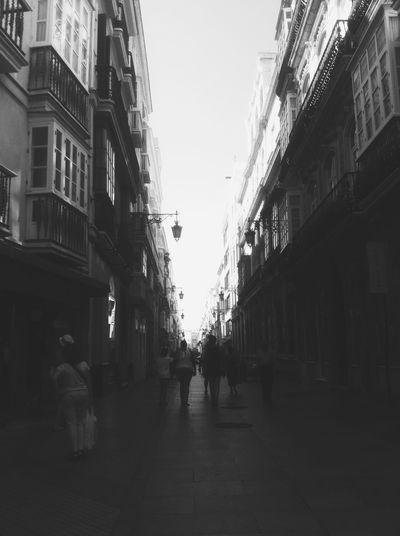SPAIN Cadiz Andalucía Calle Ancha Blackandwhite City Loving Life! Taking Photos Hello World Enjoying Life