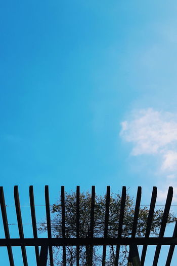 Colors Sky And Clouds Travel Azzurro Blue Blue Sky Bluesky Cielo Cold Temperature Day Gate Italy Nature No People Outdoors Photo Photographer Photography Protection Railing Safety Sky Snow Winter Wood - Material EyeEmNewHere