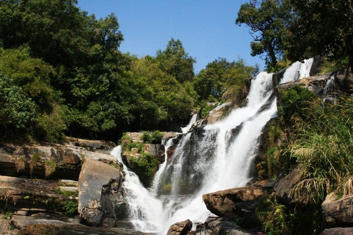 Waterfall Nature Waterfall And Nature View Waterfall View Landscape Beautiful Waterfall Waterfall Photography Waterfall Landscape Waterfall In Mountain Waterfall In Thailand ใน Thailand