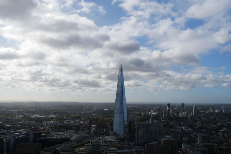 stick to the clouds No People Lumixg7 Greater London Shard Theshard Lumix Panasonic  Unedited EyeEm Selects EyeEm Selects EyeEm Selects London Cloud - Sky Longdistance Beautiful View City Cityscape Urban Skyline Skyscraper Modern Illuminated Aerial View Tower Business Finance And Industry City Life Financial District  Tall - High Monument