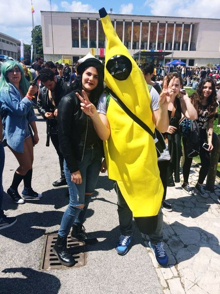 Comicon2015 Comicon Banana Cheese! Enjoying Life Taking Photos Relaxing Hello World Hanging Out Check This Out