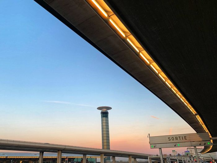 Airport morning