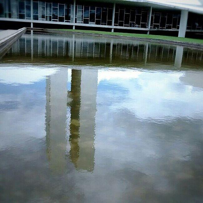 Upside down Reflex Water Congressonacional Clouds Inverted