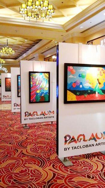 Resortsworldmanila Obra Maestra Painters from Tacloban, Philippines in Memories Typhoon Haiyan kudos to the Artists - Beautiful ♥ Amazing Pinoy