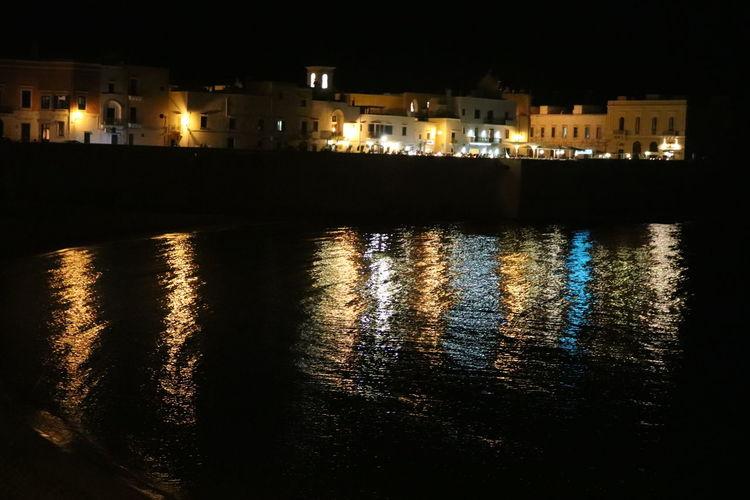 Galipolli Puglia Night Lights Night The Tourist