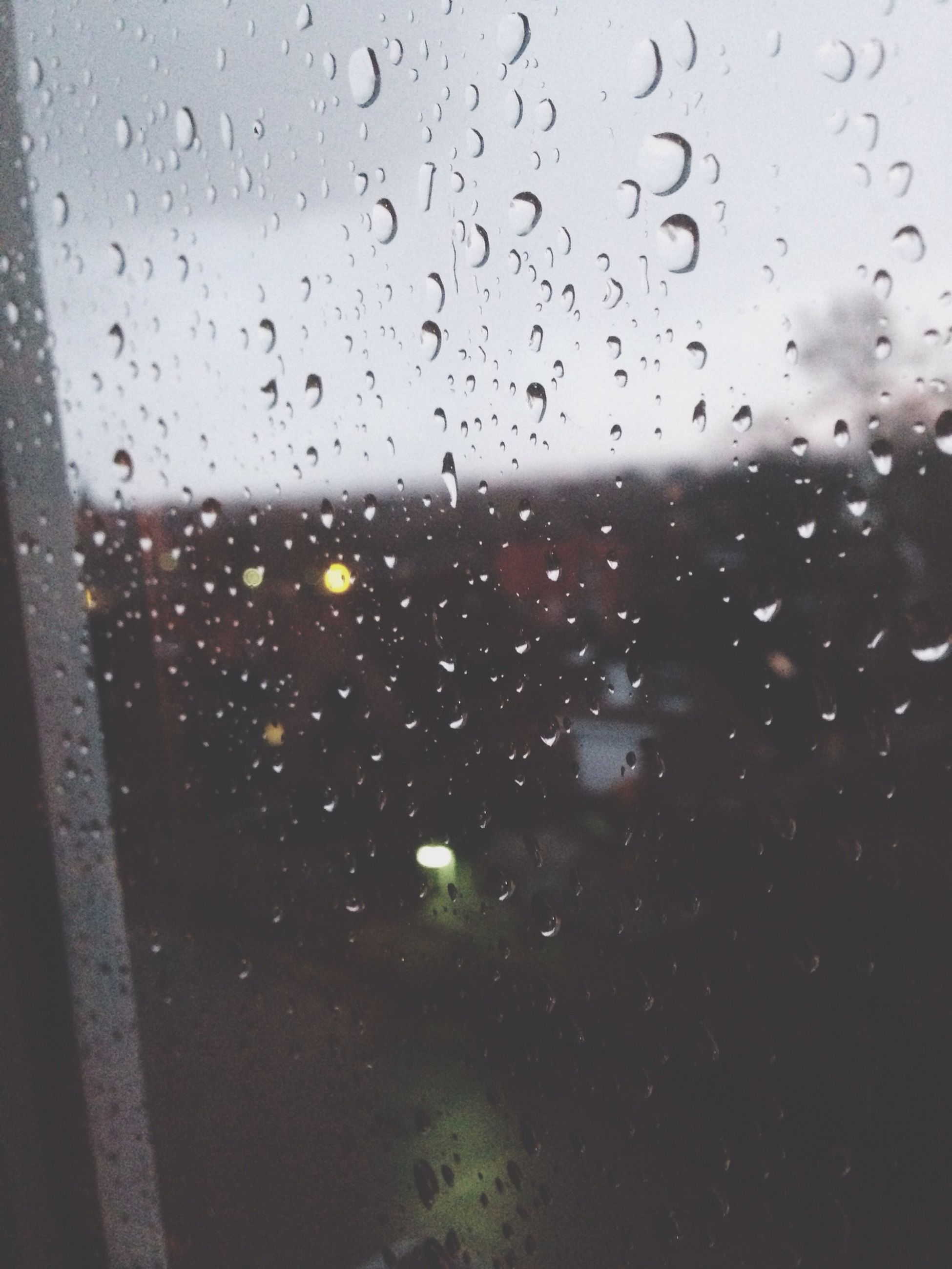 window, drop, transparent, indoors, wet, glass - material, rain, weather, water, raindrop, sky, glass, backgrounds, full frame, season, no people, dusk, nature, close-up, built structure
