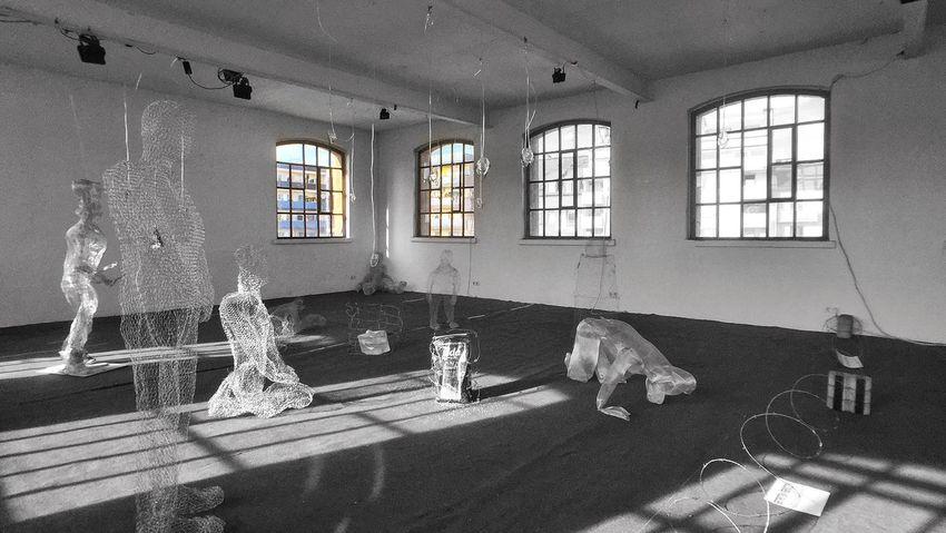 Kunstansichten 2015 Art Gallery Sculptures Blackandwhite Black & White B&w Momentwide