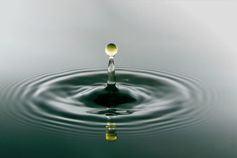 Backgrounds Beauty In Nature Close-up Concentric Day Drinking Glass Drop Freshness High-speed Photography Motion Nature No People Purity Rippled Splashing Splashing Droplet Water Waterfront