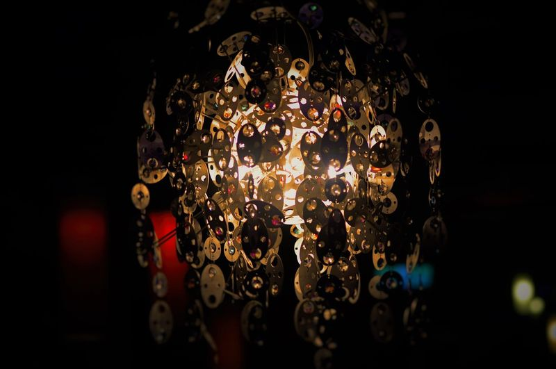 Ball Cross Light Darkness And Light Decorative Lamp Lantern Light Light And Shadow Mysterious Plate Secret Sparkle