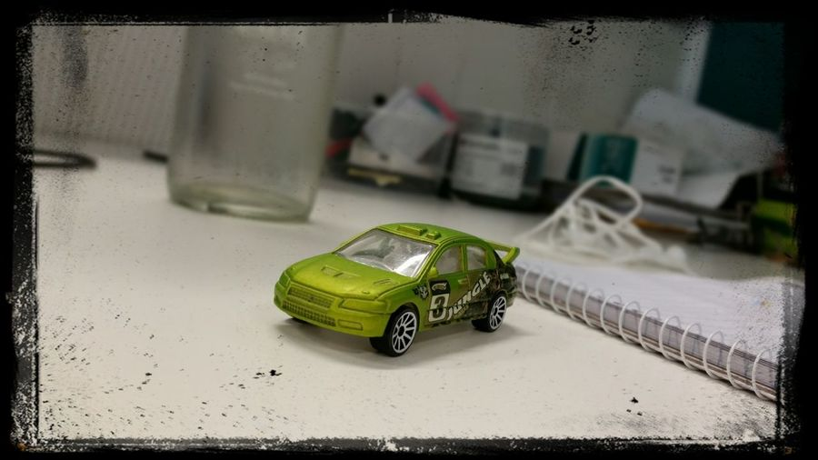 Toy car. Evo Mitsubishi