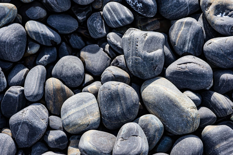 Abundance Backgrounds Black Color Close-up Day Food Full Frame Healthy Eating High Angle View Large Group Of Objects Nature No People Pebble Rock Solid Still Life Stone Stone - Object Textured  Wellbeing