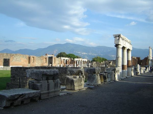 Ancient Archeological Archeology History Old Ruin Pompeii Ruins Pompeiscavi Romans The Past