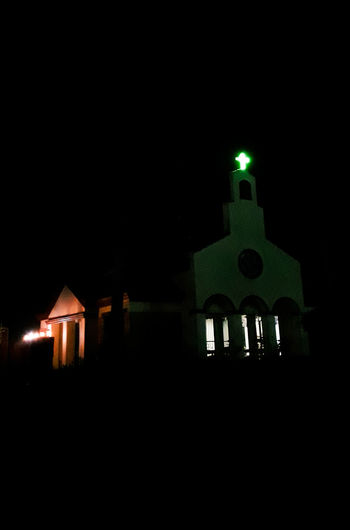 Chapel Night Lights Nightscape Nighttime Night Photography Night Lights Nightlights No People Finding New Frontiers