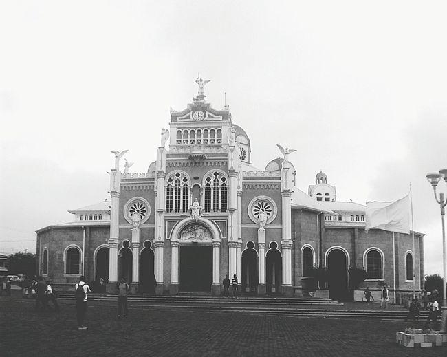 Basilica de Cartago Costa Rica Iglesia Black&white Helloworld