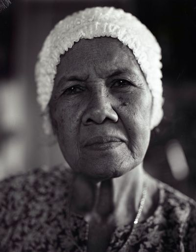 Portrait of my Grandmother. Shot on a Large Format camera. The Human Condition Portraits Filmisnotdead RePicture Ageing Film Photography Largeformat Believeinfilm EyeEm Best Shots - Black + White Ilford EyeEm Malaysia