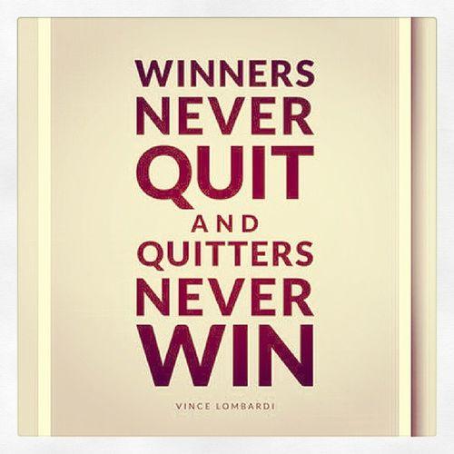 ผู้ชนะไม่เคยยอมแ