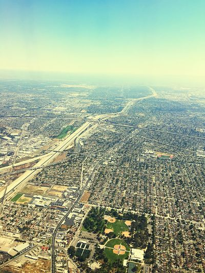 Losangeles Los Angeles, California California Air Fly Airplane Bird's View View