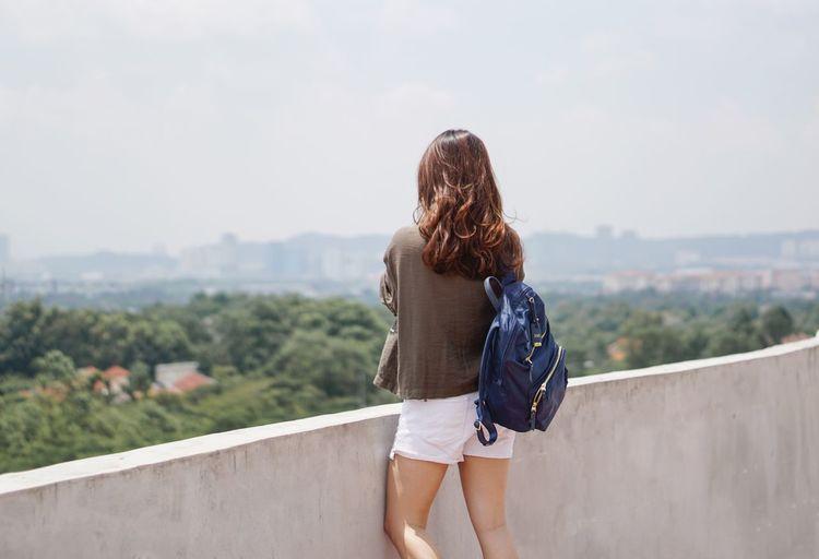 Girl pondering life