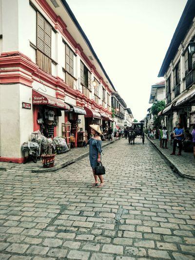 Colour Of Life EyeemPhilippines Heritage Vintage Traveling Philippines Vigan Philippines Walking Around Lady EyeEm Gallery EyeEm Phillipines Eyeem Philippines