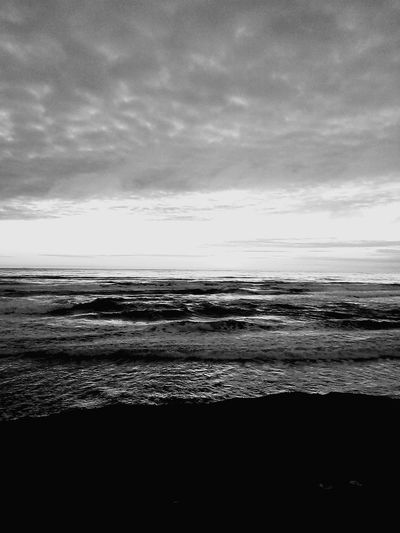 Black And White Photography Beach Sunset_collection Ocea Beach, San Francisco