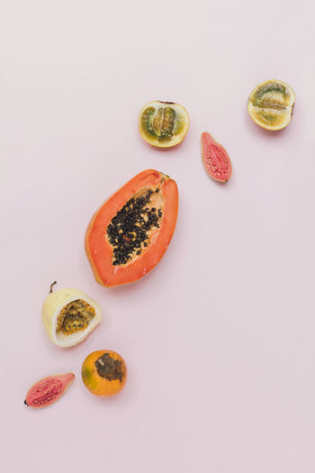 Colors Pink Fruits Guayaba Lulo Lulofruit Papaya Simple Simple Photography Still Life