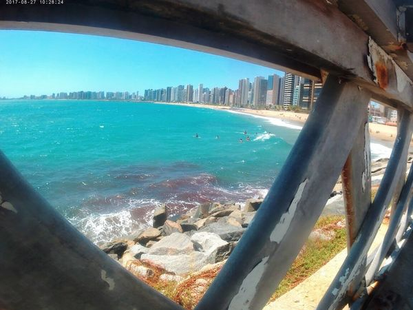 Wine Sea Sea Water City Beach Day Nature Architecture Sky Con6 Fortaleza Ceará Nordeste  Brasil ♥ Urban Skyline Beautiful