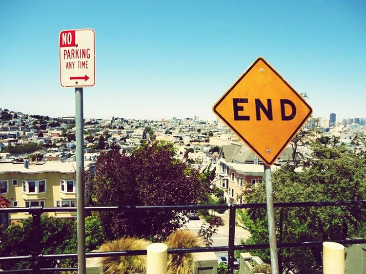 Is that the End? San Francisco Check This Out